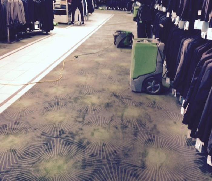 Water Damage Through Department Store in NYC After