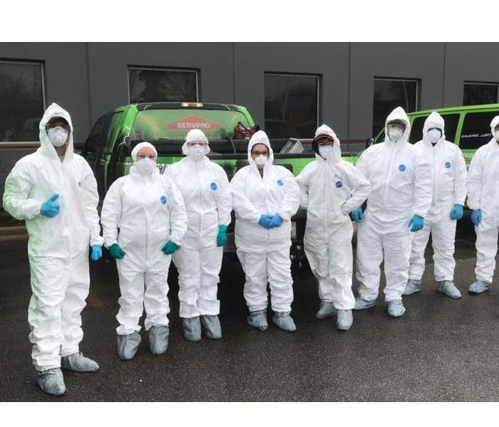 Team of COVID-19 Cleaning Technicians